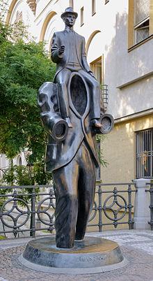 kafka estatua